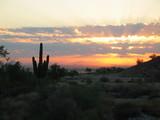 sunrise over phoenix arizona poster