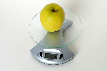 le poids de la pomme