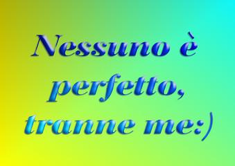 nessuno e' perfetto