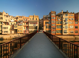 bridge in girona, spain