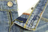 denim jeans zipper poster