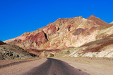 artists palette in death valley, california poster