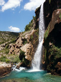 krcic waterfall in south croatia poster