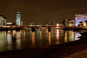 evening over the thames