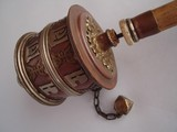 nepalese prayer wheel