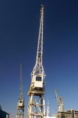 crane in harbour