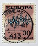 german stamp poster