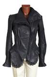 female leather jacket poster