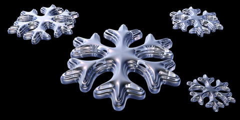 schneeflocken ornamente