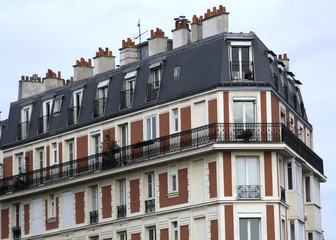 paris france and living above montmartre