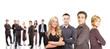 Leinwanddruck Bild - business team concept