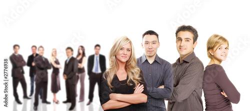 Leinwanddruck Bild business team concept