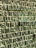 inscriptions, sagrada familia gates poster