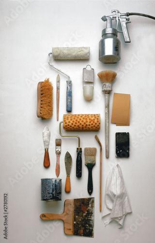 outils du peintre photo libre de droits sur la banque d 39 images image 2780192. Black Bedroom Furniture Sets. Home Design Ideas