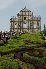ruins of church macau
