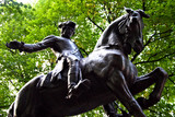 paul revere statue, north end, boston poster