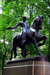 paul revere statue, north end, boston