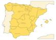 les régions espagnoles