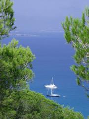vista desde formentera islas baleares