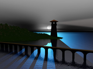 bridge to lighthouse