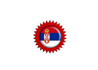serbian badge