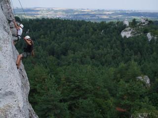 climbing men