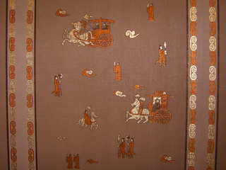 chinese embroidery in silk