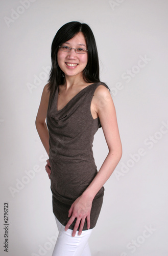 chinese woman in glasses