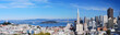 Fototapeta Kalifornia - Panorama - Widok Miejski
