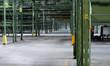verlassene lagerhalle