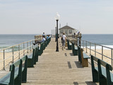 ocean grove pier poster