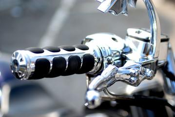 detais de poignees de moto