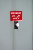 emergency shutoff poster
