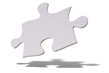 puzzle piece floating