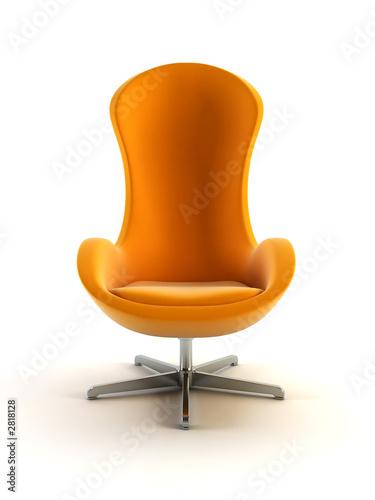 nowoczesne renderowanie 3d fotel