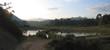 lake at the sunset from londa to kete kesu, rantepao, sulawesi i