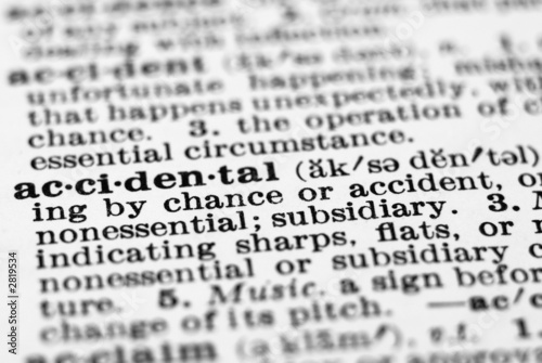 accidental  definition