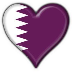 bottone cuore qatar button heart flag