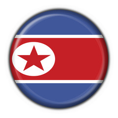 bottone bandiera north korea button flag