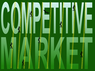 competive market figures climbing