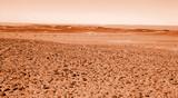 planète mars poster