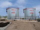 fire-prevention tanks with water poster