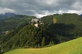 castle in werfen austria poster
