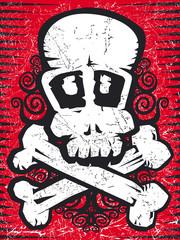 skull grunge