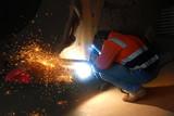 industrial welding poster