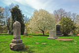 historic spring grove cemetery in cincinnati ohio usa poster