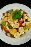 homemade fruit salad 1 poster