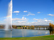 fountain on the lake - 2847506