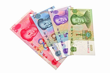 the chinese currency being revaluing