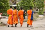 buddhist monks poster